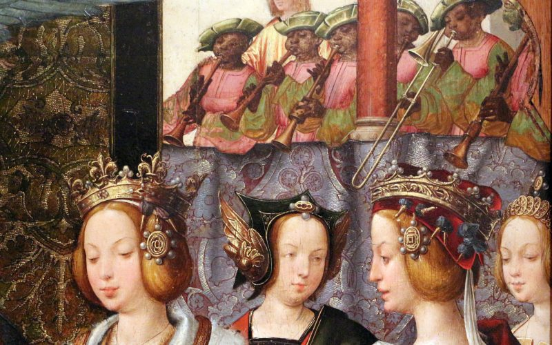 The Engagement of St Ursula and Prince Etherius