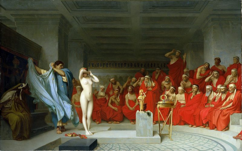 Phryne the Ancient Greek courtesan