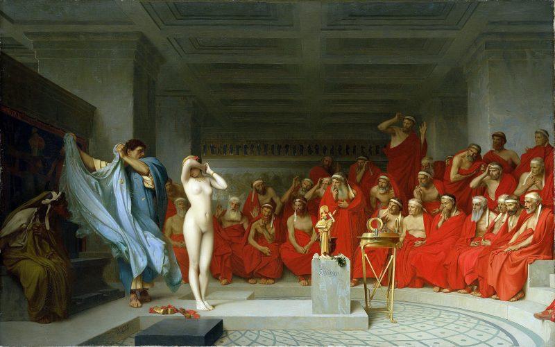 Phryne the Ancient Greek courtesan