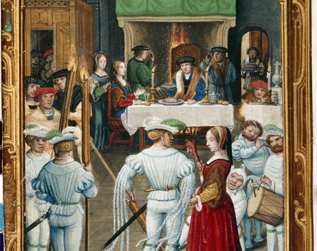 middle ages christmas