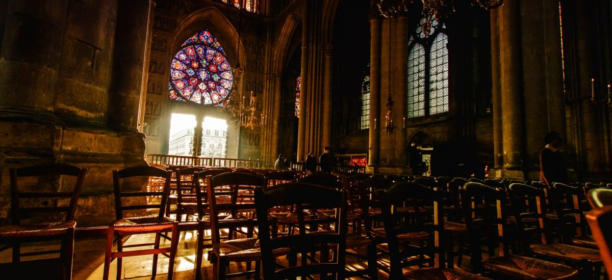 inside reims cathedral